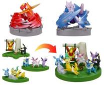 Pokemon zukan BW 16th movie figuren set