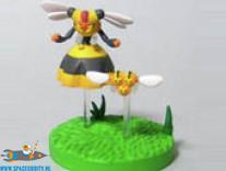 Pokemon zukan Combee & Vespiquen