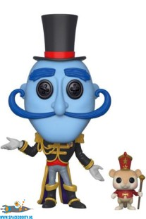 Pop! Animation Coraline : Mr. Bobinsky with mouse vinyl figuur
