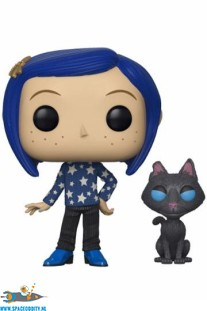 Pop! Animation Coraline with Cat vinyl figuur