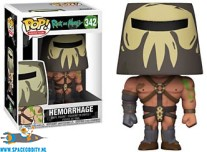 ​Pop! Animation Rick and Morty Hemorrage vinyl figuur