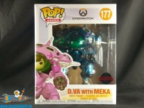 ​Pop! Games Overwatch D.Va with Meka blueberry limited edition