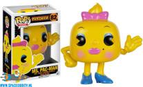 Pop! Games Pac-Man vinyl figuur Ms. Pac-Man