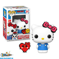 Pop! Hello Kitty vinyl figuur Hello Kitty (8 Bit chase)