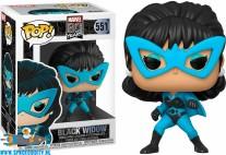 Pop! Marvel 80th vinyl figuur Black Widow first appearance