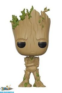 Pop! Marvel Teenage Groot vinyl bobble-head.