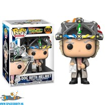 Pop! Movies Back To The Future vinyl figuur Doc with Helmet