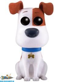 Pop! Movies Secret Life of Pets Max (flocked) vinyl figuur