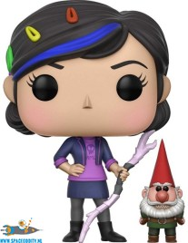 Pop! Television Trollhunters vinyl figuur Claire with Gnome