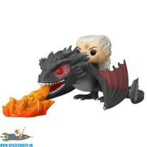 Pop! Rides Game of Thrones vinyl figuren set Daenerys & Fiery Drogon