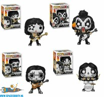 ​Pop! Rocks Kiss set van 4 vinyl figuren