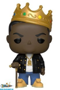 Pop! Rocks Notorious B.I.G. with crown vinyl figuur