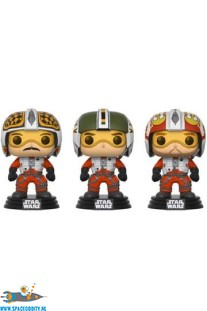 Pop! Star Wars bobble head 3-pack ( Biggs, Wedge & Porkins )