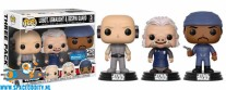 ​Pop! Star Wars bobble head 3-pack ( Lobot, Ugnaught & Bespin Guard )