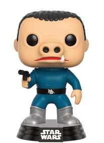 Pop! Star Wars bobble head Blue Snaggletooth (smuggler's bounty exclusive)