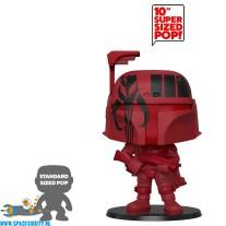 Pop! Star Wars bobble head Boba Fett (red) super sized edition