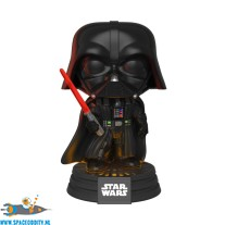 Pop! Star Wars bobble head Darth Vader lights & sound (343)
