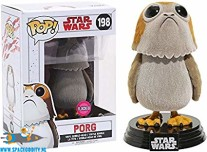 Pop! Star Wars bobble head Porg flocked (198)
