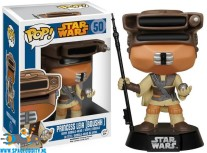 Pop! Star Wars bobble head Princess Leia Boushh
