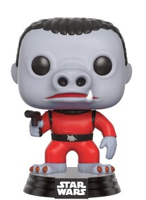 Pop! Star Wars bobble head Red Snaggletooth (smuggler's bounty exclusive)