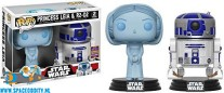​Pop! Star Wars bobble heads Princess Leia & R2-D2