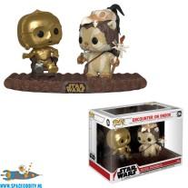 Pop! Star Wars movie moments bobble head Encounter On Endor