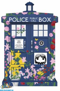 Pop! Television Doctor Who Tardis Clara's Memorial ​oversized vinyl figuur