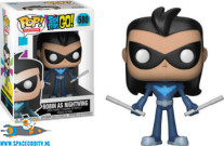 Pop! Television Teen Titans Go vinyl figuur Robin as Nightwing