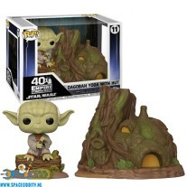 Pop! Town Dagobah Yoda with Hut bobble head