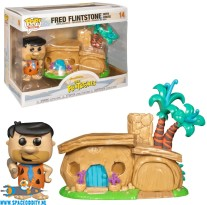 Pop! Town Fred Flintstone with House vinyl figuur