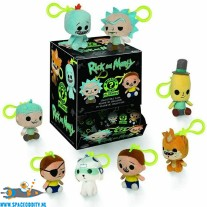 Rick and Morty pluche sleutelhanger blind bag