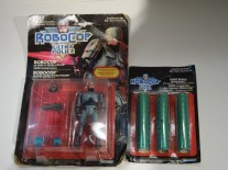Robocop vintage action figure & 1500 Robocaps