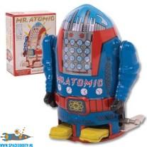 Robot Mr, Atomic (blauw) met wind-up functie