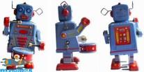 Robot MS 514 drummer met wind-up functie