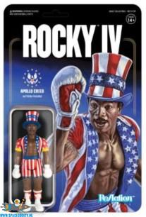 Rocky IV ReAction actiefiguur Apollo Creed