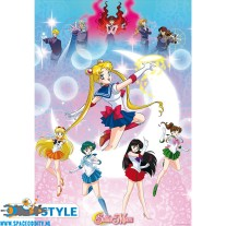 Sailor Moon poster Moonlight power