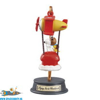 Snoopy Re-Ment Balloon Journey Flying Ace & Woodstock