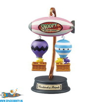 Snoopy Re-Ment Balloon Journey Woodstock & friends