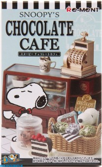 Snoopy's Chocolate Cafe Re-Ment blind box