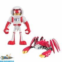 Sonic Boom 2-pack Knuckles & Crabmeat actiefiguren 8 cm