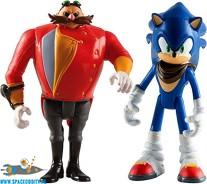 Sonic Boom 2-pack Sonic & Dr. Eggman actiefiguren 8 cm