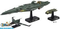 Space Battleship Yamato 2199 Great Garmillas Warships set 4