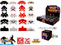 Space Invaders magnet collection