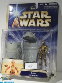 Star Wars actiefiguur C-3PO with Escape Pod