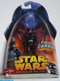 Star Wars actiefiguur Clone Pilot (ROTS)