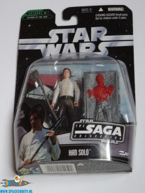 Star Wars actiefiguur Han Solo in Carbonite