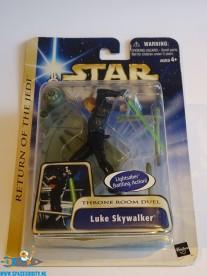 Star Wars actiefiguur Luke Skywalker (throne room duel)