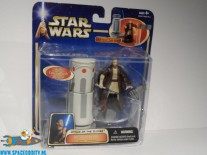 Star Wars actiefiguur Obi-Wan Kenobi with force push action