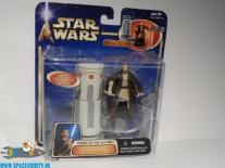Star Wars actiefiguur Obi-Wan Kenobi with force push action