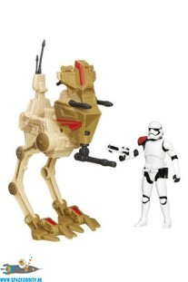 Star Wars Assault Walker & First Order Stormtrooper Officer actiefiguur